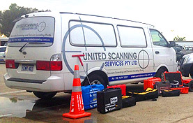 United Scanning Van