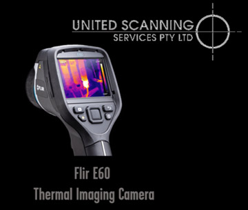 Thermal imaging camera for non destructive testing