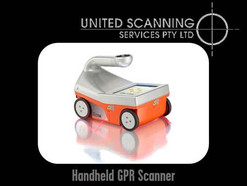 Handheld GPR Scanner